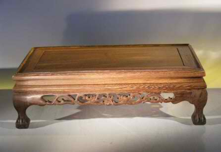"Wooden Display Table - 13"" x 8"" x 4.75"" tall"