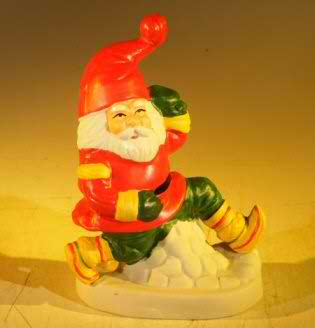 Ceramic Santa Claus Figurine